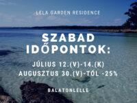 Lela Garden Residence Apartman Balatonlelle - Szallas.hu