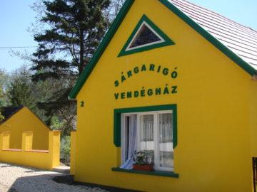 Sárgarigó Vendégház Bakonybél - Szallas.hu